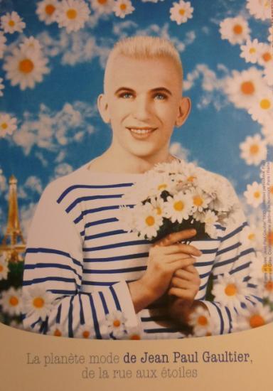 2011 carton 'La planète mode de Jean Paul Gaultier'
