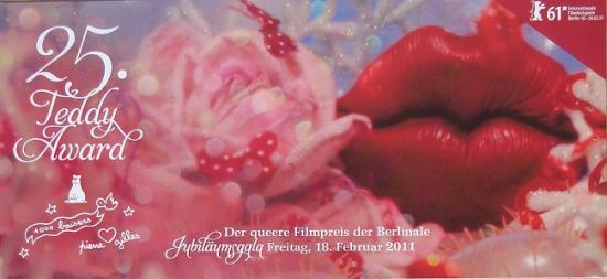 2011 carte pour les Teddy Award, Berlin