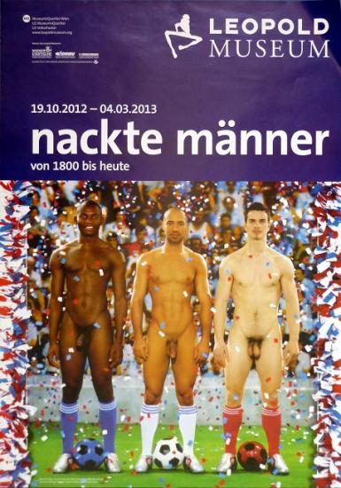 2012 grande aff expo 'Nackte männer' Vienne