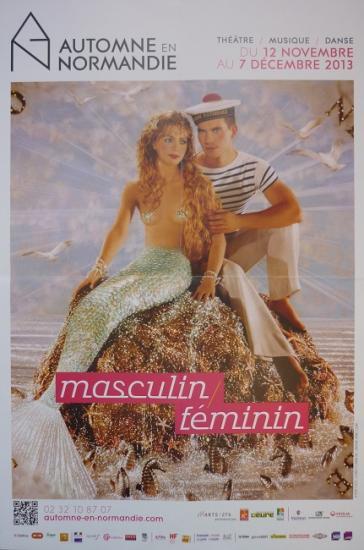 2013 affiche Masculin-féminin, Automne en Normandie