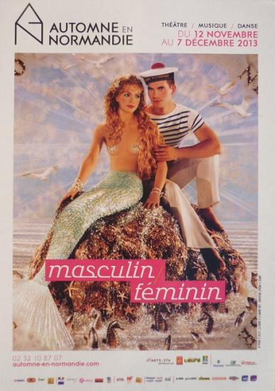 2013 carte Masculin-féminin, Automne en Normandie