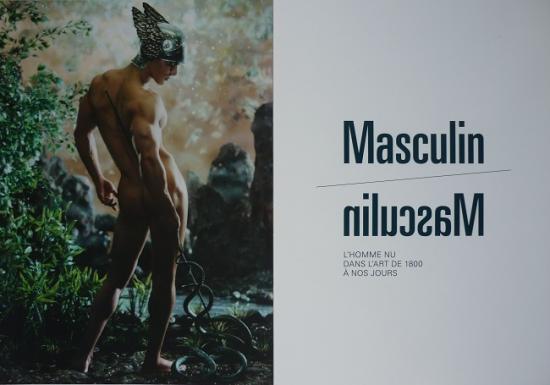 2013 carton expo Masculin/Masculin, musée d'Orsay, Paris