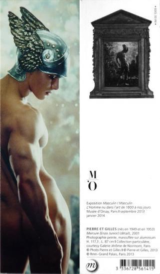 2013 marque page expo 'Masculin/Masculin' Paris