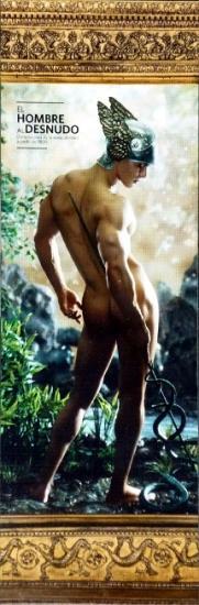 2014 expo 'El hombre al desnudo' Mexique (marque page 1)