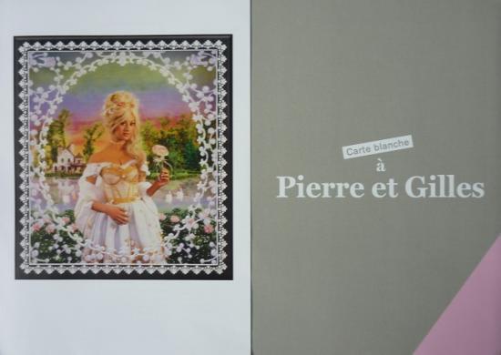 2014 plaquette expo 'Carte blanche à Pierre et Gilles'