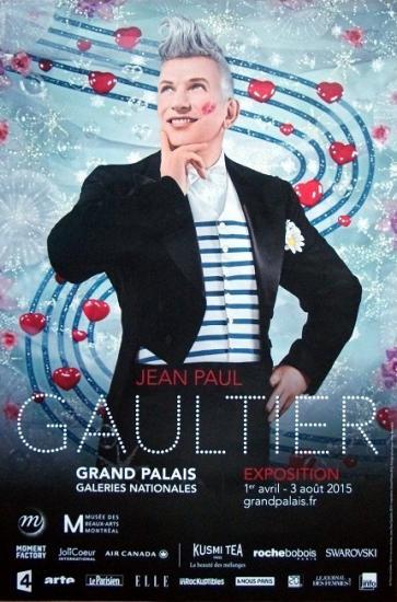 2015 aff expo Jean Paul Gaultier, Grand Palais, Paris