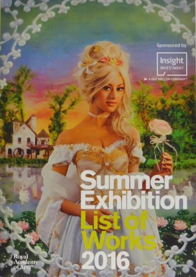 2016 cat 'Summer exhibition list of works' Londres