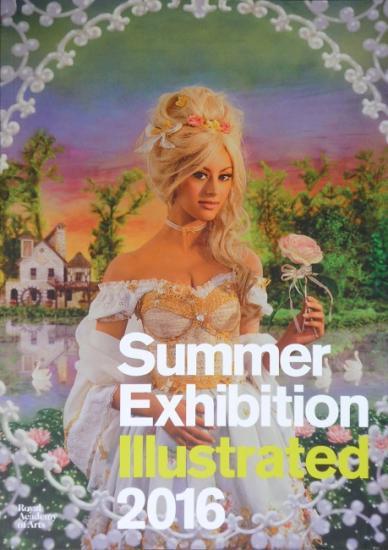 2016 catalogue 'Summer exhibition' Londres