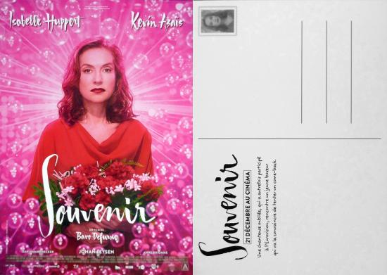 2016 carte promo du film 'Souvenir' de Bavo Defurne