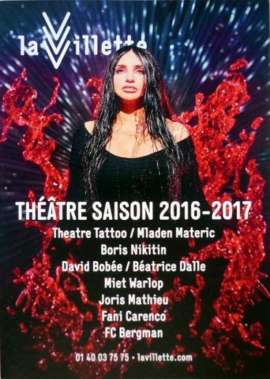 2016 plaquette Saison 2016-2017 La Villette