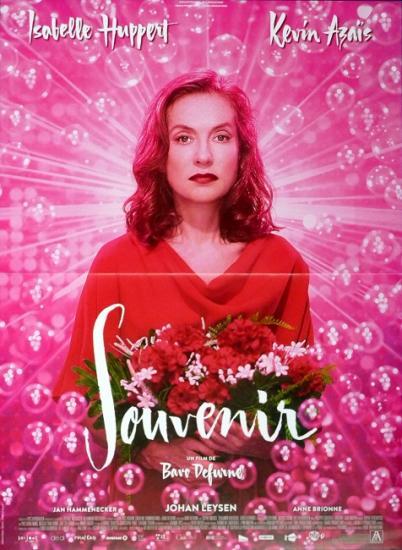 2016 petite affiche film 'Souvenir' Bavo Defurne