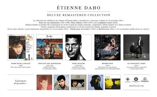 2016 pub rééditions Etienne Daho