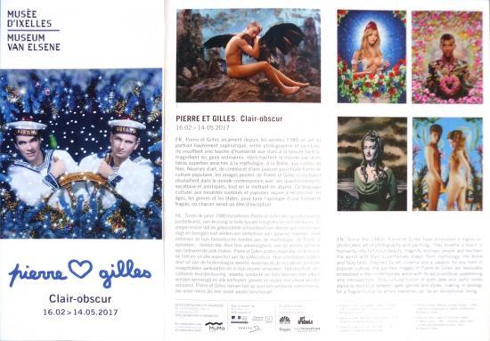 2017 plaquette expos Musée d'Ixelles