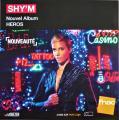 2017 Shy'm 'Héros' plv Fnac France, 30x30 cm