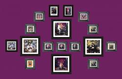 Exposition de pochettes Khaled, Lilly Wood, CocoRosie