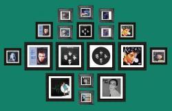 Exposition de pochettes de Bastien Blondel, Indochine, Iggy Pop, Shy'm