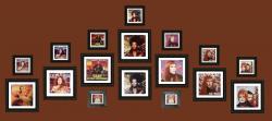 Exposition de pochettes de Roussia, Beckie Bell, Suzie Andrews